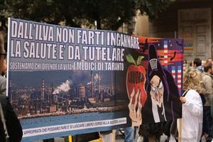 Taranto 7 aprile contro il decreto salva ilva