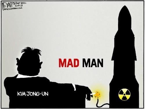 Kim Jong-Un è pazzo.
