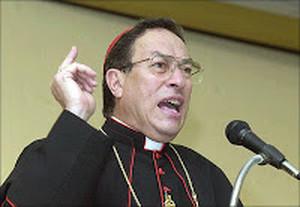 Cardinale Óscar Rodríguez Maradiaga (Foto hondurastierralibre.org)