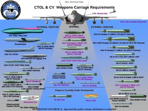F35 weapons armi
