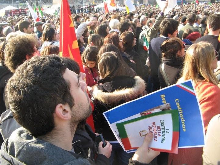La Costituzione è con i cittadini (Roma, 12 marzo 2011)