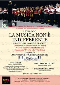 Martesana InCanto Ensemble: per la Pace contro ogni guerra e totalitarismo
