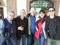 Massimo Priviero, Laura Tussi, Fabrizio Cracolici, Claudio Fucci e Volo Libero alla Maratona di Teatro di Musica e Impegno Civile a Rozzano (Milano), organizzata dall'Associazione ARCI PONTI DI MEMORIA.