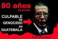Guatemala: annullata la condanna a Ríos Montt