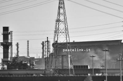 Impianti delllo stabilimento Ilva di Taranto