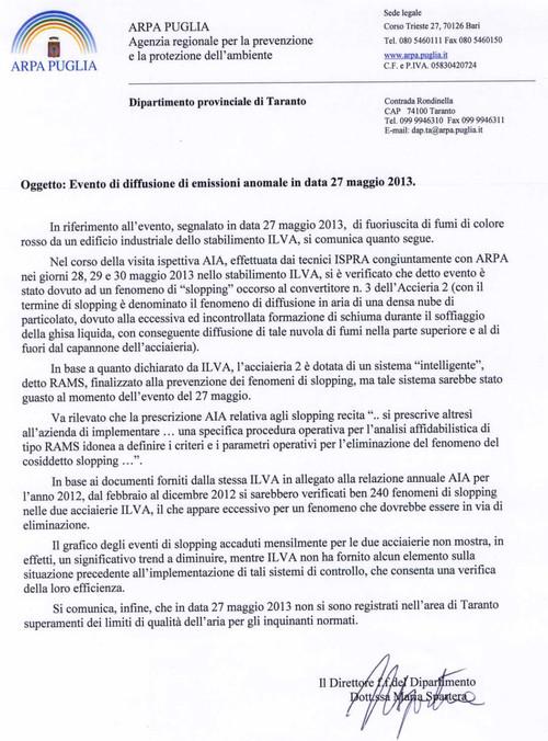 protocollo slopping 27 maggio 2013