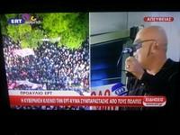 chiusa la tv di stato in Grecia