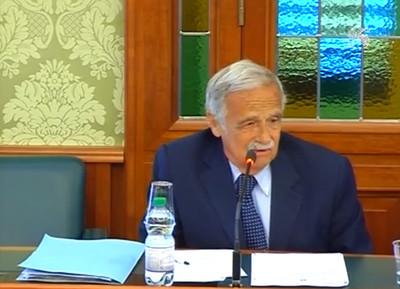 Il Dottor Franco Sebastio, Procuratore Capo di Taranto, in audizione al Senato in commissione industria