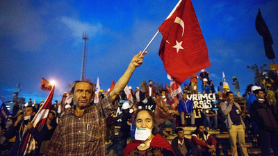 manifestanti turchi