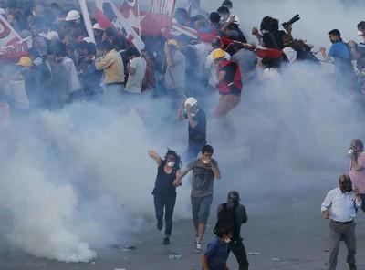 Piazza Taksim, 15 giugno 2013
