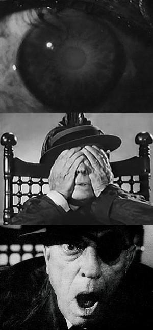 """the Eye"""" (l'occhio)  Samuel Beckett"""