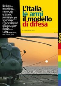 L'Italia, le armi, il modello di difesa