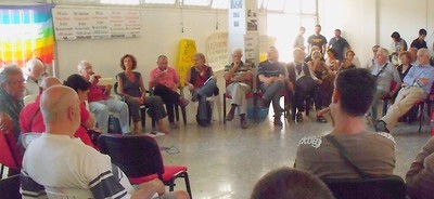 Assemblea Cittadina per la pace in Siria, Roma, 5 settembre 2013.