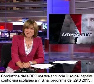 BBC e la bufala della scuola siriana bombardata con il napalm