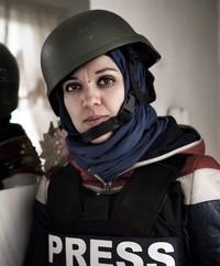 Francesca Borri in Siria