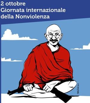 Gandhi Giornata Nonviolenza