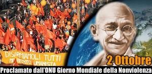 giornata internazionale della nonviolenza