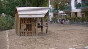 Area con giochi per bambini
