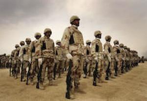 soldati allineati