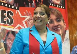 Xiomara Castro (Foto G. Trucchi)