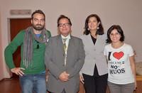 NO MUOS incontrano Laura Boldrini che mostra solidarietà e sostegno