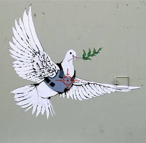 Banksy - Dove with bullet proof vest