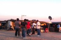Foto del Ghetto di Rignano ( FG)  scattata da Teresa Manuzzi 2012