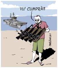Oltre cento realtà di società civile a Napolitano: tour commerciale del Gruppo Navale Cavour problematico e da fermare