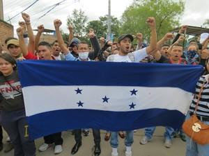 Protesta degli studenti (Foto G. Trucchi)