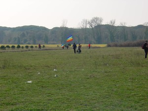 prati, boschi e bandiere arcobaleno