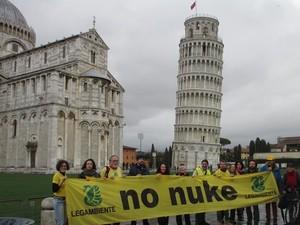 Al secondo anniversario dell'11 marzo incidente nucleare di Fukushima