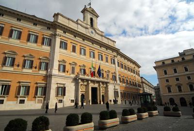 Palazzo di Monte Citorio, sede della Camera dei Deputati