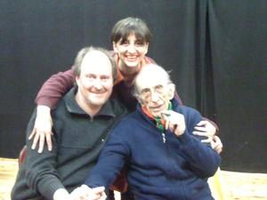 Don Andrea Gallo, Laura Tussi e Fabrizio Cracolici