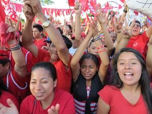Chiusura di campagna FMLN (Foto G. Trucchi | Opera Mundi)