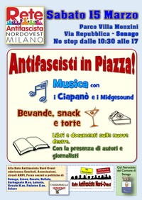 ANTIFASCISTI in PIAZZA!