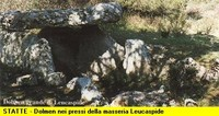Dolmen della gravina Leucaspide di Statte (TA)
