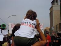 Taranto ribellati! Manifestazione dei liberi e pensanti ai Tamburi a settembre 2012