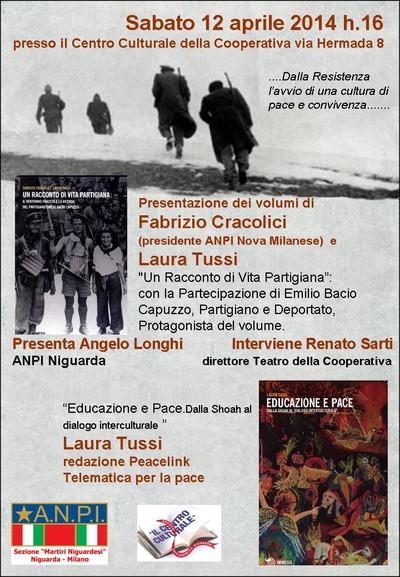 UN RACCONTO di VITA PARTIGIANA - Presentazione organizzata da ANPI Niguarda (MILANO)