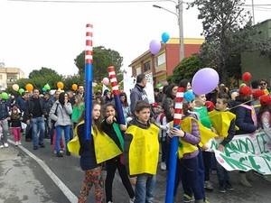 Marcia del 6 aprile 2014 da Statte ai camini dell'ILVA di Taranto