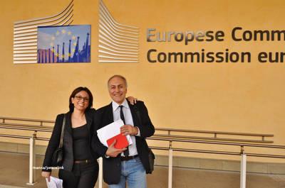 marescotti e battaglia alla commissione europea a bruxelles