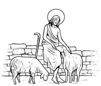 Cristo e le pecore