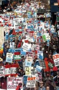 Le foto delle manifestazioni pacifiste americane