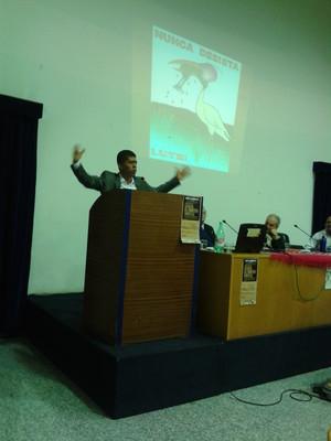 Pablo Fajardo, l'avvocato che ha sconfitto la Chevron (foto l.giannotti, Roma, nov 2013)