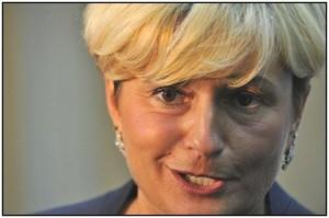 Federica Guidi, ministro dello Sviluppo Economico del Governo Renzi