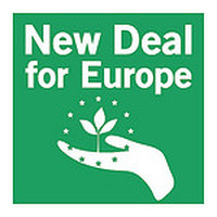 logo dell'ICE New Deal 4 Europe