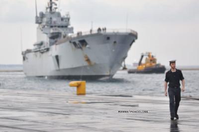 una nave della marina militare
