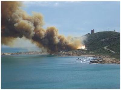 Capo Teulada, Sardegna. Esercitazioni militari