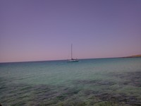 Barca a vela a Tramontone 29/06/2014
