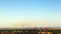 Questa è la foto dell'aria pessima misurata stamattina con l'analizzatore IPA.