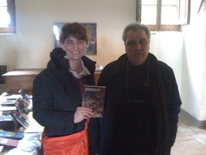 Con Daniele Biacchessi a Certaldo, Arci-Ponti di Memoria